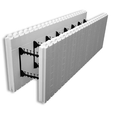Liteform insulating concrete forms for Foam block wall construction