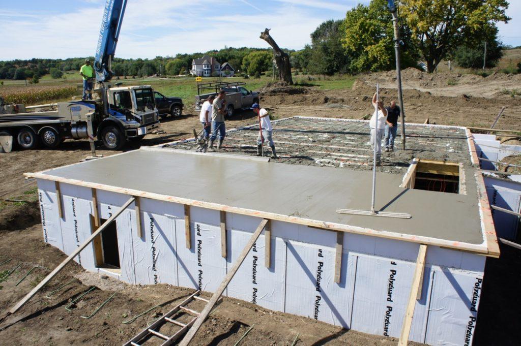 Liteform insulating concrete forms for Concrete icf