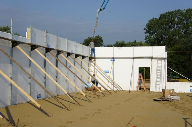 Insulated concrete forms icfs liteform for Icf home cost estimator