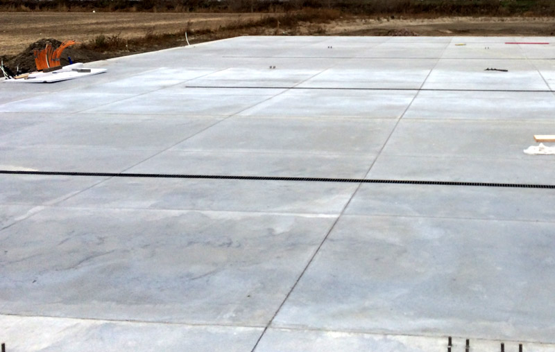 Parking Slabs With Helix Micro Rebar Liteform