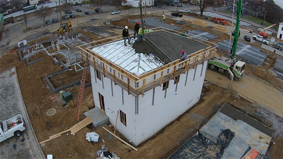 Insulated concrete forms icfs liteform for Icf pool construction