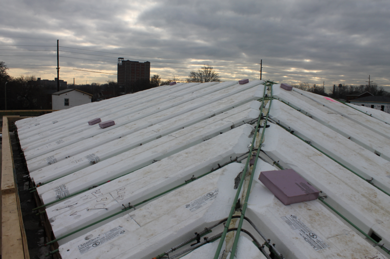 Pitched Concrete Roofs Liteform