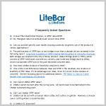 LiteBar FAQ